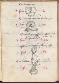 Hirschvelder, Bernhard: Gedächtniskunst Raum Nördlingen, um 1475 Cgm 4413  Folio 48