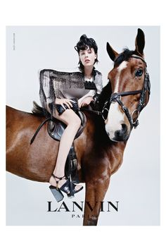 Lanvin 2014 Fall/Winter Campaign with Edie Campbell