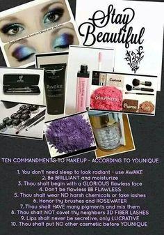 Younique makeup! http://www.amazingeyelashes.us