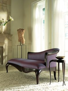 Perfect Purple Chaise by Christopher Guy.