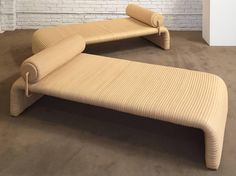 Pair of De Sede Leather Lounges, 1984