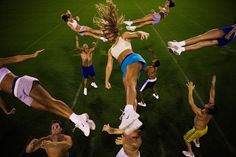 Cheerleaders.  Joachim Ladefoged has worked in more than 60 countries for magazines such as The New York Times Magazine, The New Yorker, Mare, Newsweek and TIME.