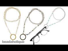 Instructions for Making the Alice Eyeglass Holder Kit - YouTube