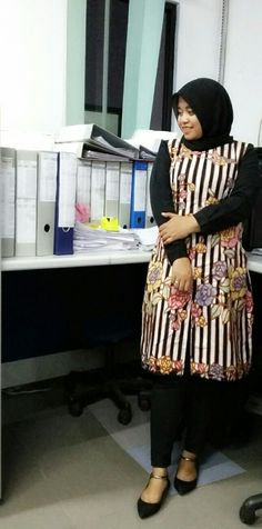 Hijab style batik encim