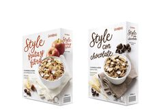 Each packaging comes in different shapes, styles, and sizes. Relevant information on the packaging helps consumers make an informed decision Cereal Packaging, Dessert Packaging, Food Packaging Design, Food Branding, Organic Packaging, Cereal Bars, Baked Brie, Oatmeal Cookies, Food Design