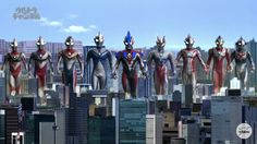 The 10 Ultra Warriors! #UltramanGaia #ウルトラマンガイア #UltramanTiga #ウルトラマンティガ #UltramanDyna #ウルトラマンダイナ #UltramanCosmos #ウルトラマンコスモス #UltramanGingaVictory #ウルトラマンギンガビクトリー #UltramanZero #ウルトラマンゼロ #UltramanMebius #ウルトラマンメビウス #UltramanMax #ウルトラマンマックス #UltramanNexus #ウルトラマンネクサス  Photo credit to Tsuburaya Productions' YouTube channel.  Note: Yes you only see nine ultraman at the photo, for those who have not watched the series, Ultraman Ginga Victory is the fusion of Ultraman Ginga and Ultraman Victory.