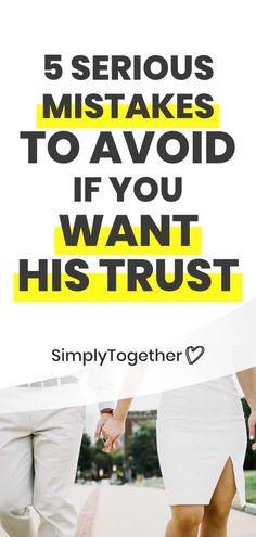 Gaining your boyfriend's trust in a relationship can be done through actions. But there are also mistakes you want to avoid that can interfere with building trust. These tips will help you avoid common issues. How To Trust Your Boyfriend, Relationship Advice, Relationships, Sagittarius Love, Understanding Men, Trust Issues, Your Man, Trust Yourself, Mistakes