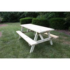 Budget Outdoor Wooden Picnic Table | Picnic Tables, Inc.