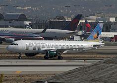 Frontier Airlines,  Airbus A320,  Elk  N213FR