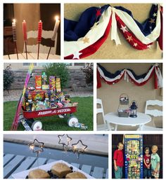 GIANT little resource of 4th of July Patriotic IDEAS- food & crafts