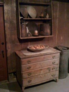 now this is primitive  Log Cabin Country Primitives  source Facebook