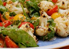 Chargrilled Cauliflower salad