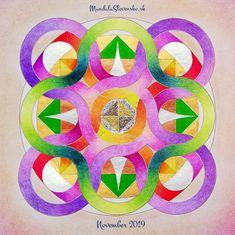 Mandala November 2019: Rovnováha vo všetkom tvorí zázraky.  #mandala #instamandala #mandalaslovensko #mandalaslovakia #sacredgeometry #handpaint #nothingelsebutlove #support #earth #healingart #november  #2019 #healingart #sacredgeometry #newearth #art #handmade #affirmations #zezula-art November 2019, Affirmations, Mandala, Symbols, Peace, Earth, Handmade, Hand Made, Icons