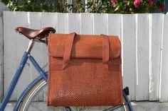 Bobbin Straw Bike Pannier