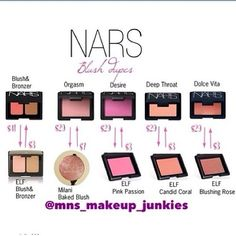 The Drugstore Princess-- great site for hundreds of drugstore dupes for high end makeup! Dupes on NARS blushes e. Blush Milani, Blush Dupes, Beauty Make-up, Beauty Dupes, Beauty Hacks, Blush Beauty, Maquillaje Too Faced, Hd Make Up, Elf Blush