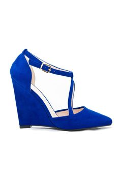 SHOES :: Lisa-Marie Pointed Toe Wedge Sandal - ...