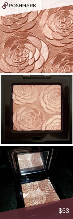 Rose Rendezvous Face Illuminator New in box Authentic. Description is above. The official color name # is B211. Yes, it is as stunning as it looks in the pictures! It so Instagram worthy it's ridiculous!  This particular one is no longer sold. Impossible to find, even on here, until now... OH YEAH BABY!!!!!👊  Making an offer for up to 10% is typically excepted, unless my item was just recently listed or lowered. More than that, then you'll need to bundle. Thank you🌷 Laura Mercier Makeup…