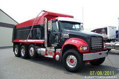 Mack Dump Truck, Mack Trucks, Big Rig Trucks, Tow Truck, Lifted Trucks, Chevy Trucks, Dump Trucks For Sale, Equipment Trailers, Heavy Construction Equipment