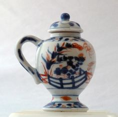 Kangxi Chinese Imari lidded mustard pot by KANGXI - Catherine Hunt Oriental Antiques