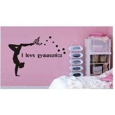 gymnast fathead gymnastics wall decals removable wall decals for kids rooms and