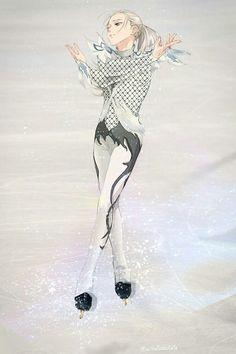 Victor Nikiforov>>>> I think most of the fandom sometimes forgets that Viktor used to own this costume😂 Nanbaka Anime, Anime Love, Anime Guys, Love On Ice, ユーリ!!! On Ice, Yuri Plisetsky, Yuri On Ice, Victor Nikiforov, Yuri Katsuki