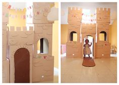 how to make a kids castle for FREE!