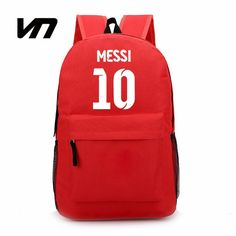 16.67$  Buy now - http://alikq2.shopchina.info/go.php?t=32732061049 - VN Brand 10# Messi Backpacks For Teenagers Hot Sale 9# Suarez Bag For Boy Girls 11# Neymar Backpacks For Fans Best Gift For Kids 16.67$ #magazine