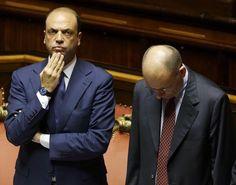 IlPost - Il ministro degli Interni, Angelino Alfano, insieme con il presidente del Consiglio, Enrico Letta