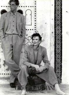 Armani fashion in the 1970