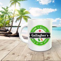 Shameless / Gallagher's / Milk of the Gods / Frank's / 15-ounce Premium mug by JamminThread on Etsy