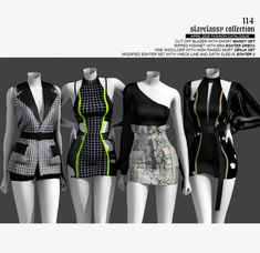 Sims 4 Teen, Sims Four, Sims Cc, Sims 4 Mods Clothes, Sims 4 Clothing, Kpop Fashion Outfits, Stage Outfits, Dance Outfits, Sims 4 Anime