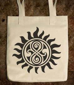 SUPERWHO DOCTOR WHO SUPERNATURAL TOTE