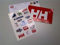 Sandra's Samples- Free Helly Hansen Sticker Pack