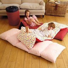 DIY Pillows sewn together