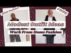 Modest Outfit ideas 2021 [Work From Home] | #Shorts - YouTube