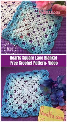 Transcendent Crochet a Solid Granny Square Ideas. Inconceivable Crochet a Solid Granny Square Ideas. Crochet Motifs, Granny Square Crochet Pattern, Crochet Stitches Patterns, Crochet Squares, Free Crochet Blanket Patterns, Crochet Afghans, Crochet Blankets, Free Crochet Square, Filet Crochet