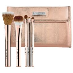 SEPHORA COLLECTION Rose Gold Mineral Brush Set: Brush Sets | Sephora