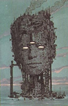 Freakwave in Eclipse Comics' Strange Days (1984). Illustration by Brendan McCarthy. Strange Days was a delightfully weird comic book series. Wish it didn't run for only three issues.