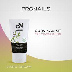 Vitamine A-E-F, Burro di karitè, Aloe Vera, estratto di Gelsomino ed Olio di Lavanda. Tutti gli ingredienti della nostra crema idratante e rivitalizzante alla Lavanda! Una manicure perfetta ovunque tu sia... scopri il ProNails Survival Kit! #ProNailsItalia #SurvivalKit #LoveYourHands #Summer #ProNails