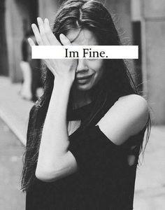 Im fine!