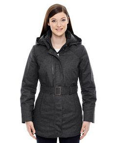 78684 North End Sport Blue Enroute Ladies Textured Insulated Jacket with Heat Reflect Technology