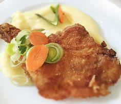 Denné menu Vranov | Vyprážané kuracie stehno, zemiaková kaša - reštaurácia Hotel Patriot*** #hotel #restauracia #dennemenu