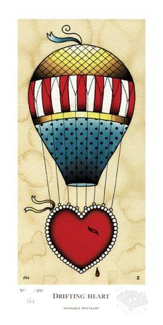 Drifting Heart, Angelique Houtkamp