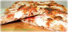 Pizza sottile e croccante in teglia di adriano