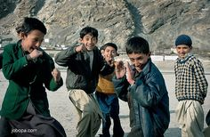 Childs from karimabad, Hunza, Pakistan
