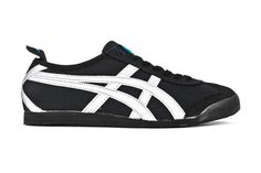 onitsuka tiger mexico 66 black and pink yellow letra