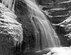 Falls in Madison Indiana by Bernie Kasper
