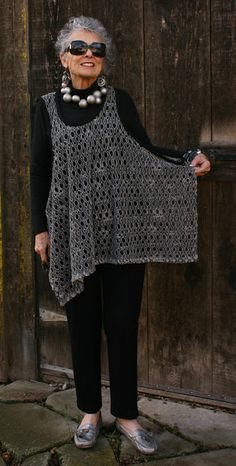 Ideas Crochet Poncho Vest Ideas For 2019 Poncho Au Crochet, Crochet Vest Pattern, Knit Crochet, Crochet Summer, Crochet Patterns, Tunic Pattern, Sewing Clothes, Crochet Clothes, Diy Clothes