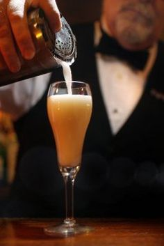 Ramos Gin Fizz- a New Orleans classic!