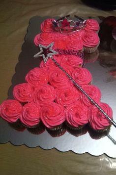 Princess Cupcake Cake!